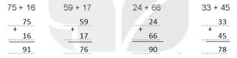 [KNTT] Giải VBT Toán 2 bài 20: Phép cộng (có nhớ) số có hai chữ số với số có hai chữ số