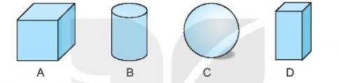 [KNTT] Giải VBT Toán 2 bài 46: Khối trụ, khối cầu