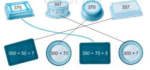 [KNTT] Giải VBT Toán 2 bài 52: Viết số thành tổng các trăm, chục, đơn vị