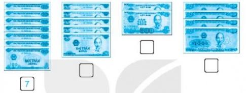 [KNTT] Giải VBT Toán 2 bài 56: Giới thiệu tiền Việt Nam