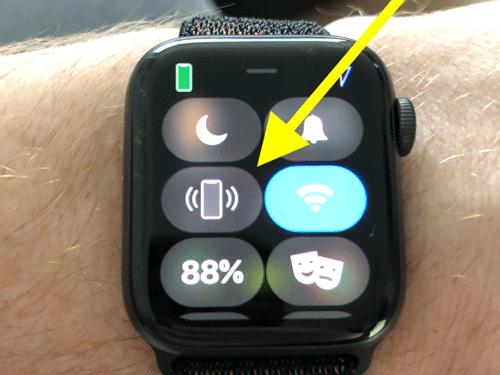 Sử dụng Watch để tìm iPhone