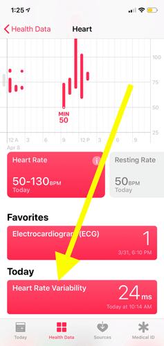 Sử dụng ứng dụng Health trên Apple Watch