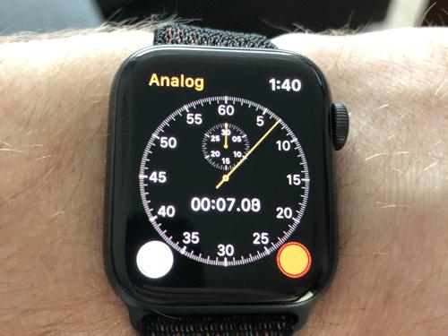 Apple Watch có thể trở thành đồng hồ bấm giờ