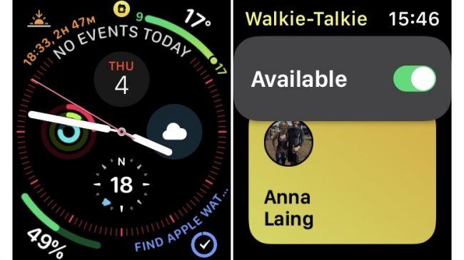 Xóa biểu tượng Walkie-Talkie