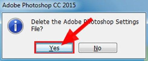Delete the Adobe Photoshop Setings File?