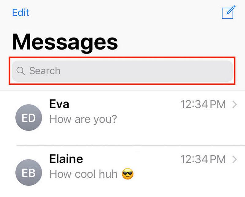 Tìm kiếm tin nhắn trên iMessage dễ dàng
