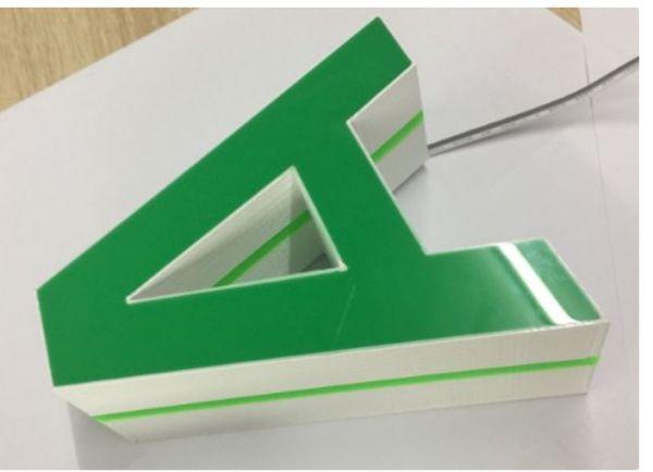 Thiết kế nhanh chân chữ in 3D với Sketchup
