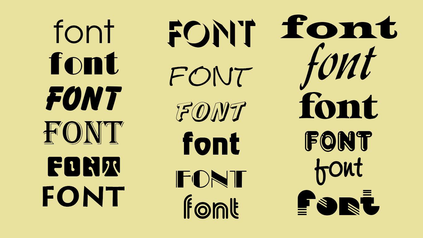 Quá nhiều font chữ sẽ làm cho chương trình trở trên chậm hơn