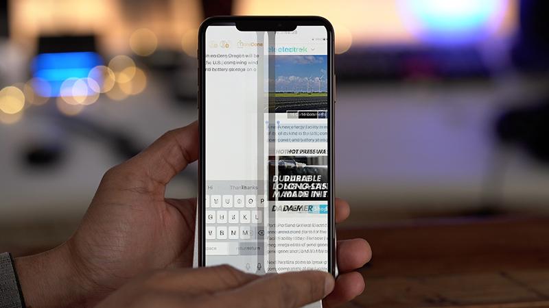 Chuyển đổi nhanh giữa hai ứng dụng.