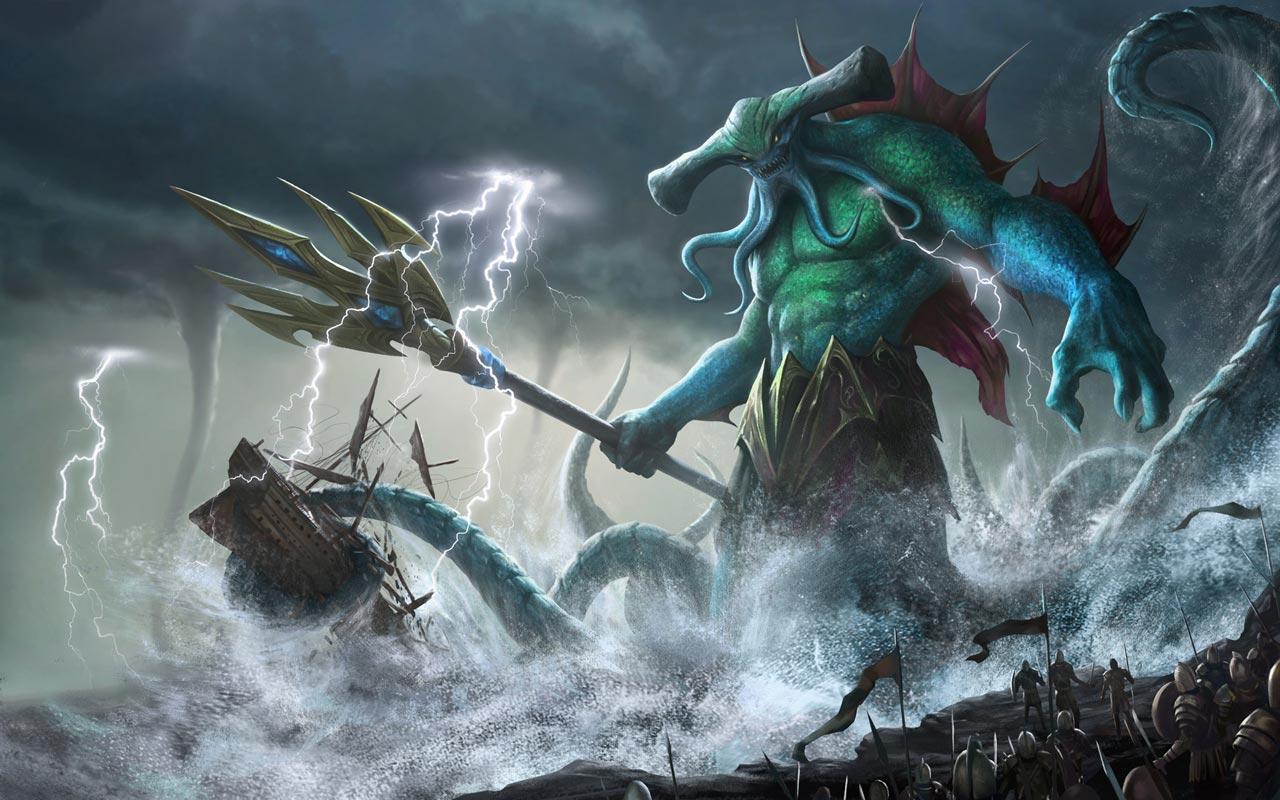 Chiến Binh Thủy Quái